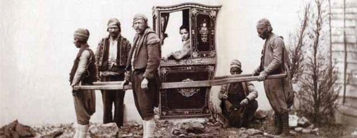 паланкин турецкий 1865 г