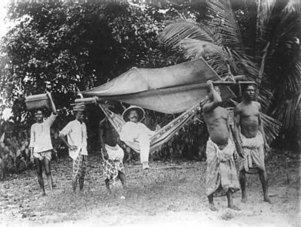 паланкин немец в Того Африка