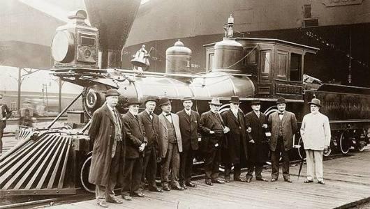 паровоз Америка 19 век