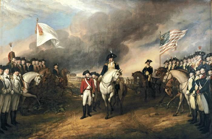 1781 капитуляция англичан